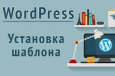 Установлю и настрою любой шаблон на WordPress 14 - kwork.ru