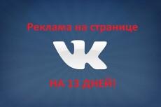 Реклама вашей услуги на странице в Вконтакте 4 - kwork.ru