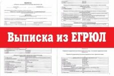 Закажу выписку из егрюл или егрип 16 - kwork.ru