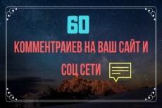 1 комментарий в день в течение 30 дней на Ваш сайт, не в соц. сетях 4 - kwork.ru