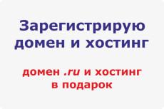 Зарегистрирую домен и хостинг 16 - kwork.ru