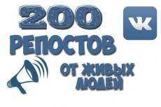 за день 1000 лайков на пост в ВК 4 - kwork.ru