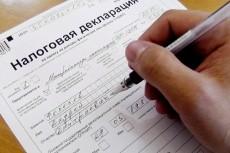 Заполнение заявления для регистрации ИП 19 - kwork.ru