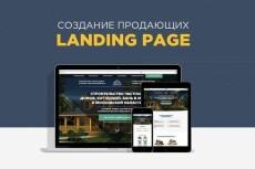 Создам продающий Landing Page под ключ 106 - kwork.ru