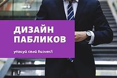 Дизайн вашей группы или паблика ВКонтакте 10 - kwork.ru