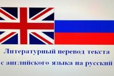 Литературный перевод с английского на русский - до 5 000 символов 13 - kwork.ru