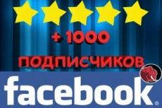 Добавлю 500 активных русскоязычных подписчиков на паблик в Facebook 6 - kwork.ru