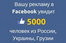 научу грамотно запускать рекламу в Facebook и Instagram 5 - kwork.ru
