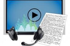Транскрибация, перевод из аудио / видео / фото / скан в Word 5 - kwork.ru