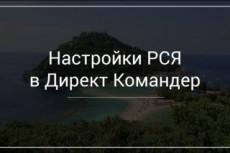 Настрою контекстную рекламу в Яндексе 18 - kwork.ru