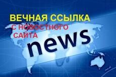 Вечная ссылка с новостного сайта 10 - kwork.ru