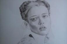 Нарисую стилизованный портрет 25 - kwork.ru