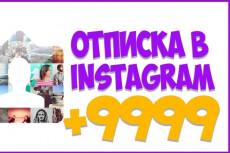 +1000 Подписчиков в ваш аккаунт instagram, отличное качество 9 - kwork.ru