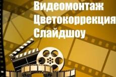 Полноценный монтаж 1-ого видеоролика 26 - kwork.ru