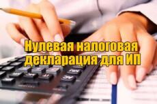 3ндфл, Нулевой отчет любой 12 - kwork.ru