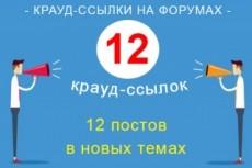 Прогон сайта Хрумером. Ссылочная масса с разнообразных доноров 27 - kwork.ru