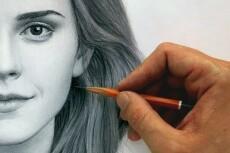 Нарисую Ваш портрет по фото. техника (графика,гуашь,цветные карандаши) 3 - kwork.ru