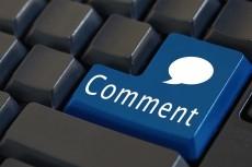 1 комментарий в день в течение 30 дней на Ваш сайт, не в соц. сетях 20 - kwork.ru