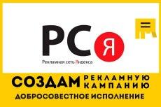 3 объявления РСЯ на 50 ключевых слов 12 - kwork.ru