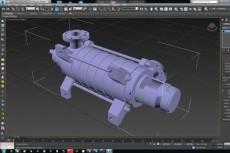 3D модель в 3Ds Max 18 - kwork.ru