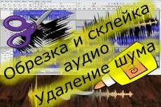 Обрежу любой участок аудио файла 17 - kwork.ru