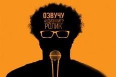Озвучу ролик,аудиокнигу,текст 9 - kwork.ru