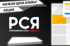 Создам РСЯ в Яндекс. Директ. Рекламная кампания на 5 объявлений 36 - kwork.ru