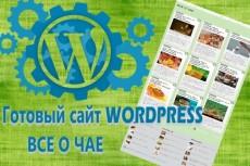 Установлю с нуля сайт на wordpress и настрою основные плагины 4 - kwork.ru