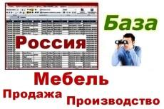 База прачечных и химчисток России 26 - kwork.ru