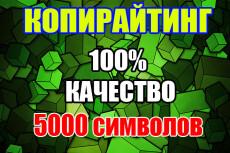 Напишу 5000 символов качественного текста для вашего сайта 20 - kwork.ru