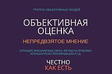 Оценю выскажу свое мнение по вашему вопросу дам обратную связь 11 - kwork.ru
