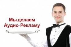 Создам рекламный аудио-ролик для радио, торгового центра, транспорта 8 - kwork.ru