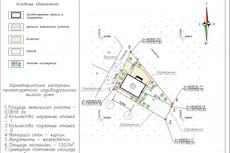 Схема земельного участка 34 - kwork.ru