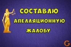 Составлю жалобу в суд на отмену постановления об адм. нарушении 10 - kwork.ru