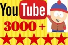 4000 просмотров с удержанием до 30 минут на Youtube 20 - kwork.ru