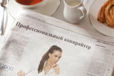 напишу 15 000 знаков 5 - kwork.ru