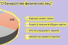 Составление заявления на банкротство физ. лица 4 - kwork.ru