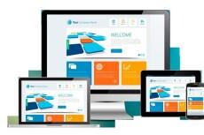 Изготовлю дизайн для вашего сайта в формате  PSD 15 - kwork.ru