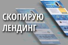 Создам лендинг с 1 экраном в Adobe Muse 11 - kwork.ru