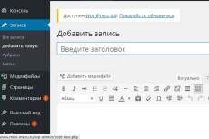 Опубликую 6 текстов на Вордпресс 3 - kwork.ru