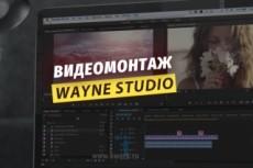 Работа с храмокеем, обрезка, склейка видео, наложение звука 17 - kwork.ru