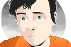 Нарисую аватарку с живого фото в стиле FLAT 8 - kwork.ru