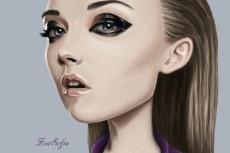 Нарисую портрет в стиле Gorillaz 6 - kwork.ru