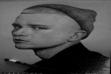 Портрет карандашом 13 - kwork.ru