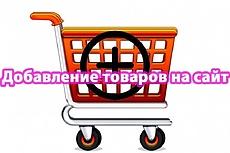 Наполню вручную интернет-магазин 100 товарами 5 - kwork.ru