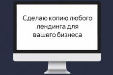 скопирую любой лэндинг и настрою под Ваш бизнес 4 - kwork.ru