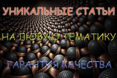 Напишу одну качественную статью объемом до 5000 знаков 18 - kwork.ru
