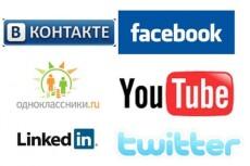 Сделаю 250 действий с необходимой информацией в социальных сетях 3 - kwork.ru