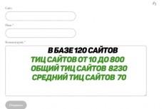 Ручной прогон по гостевым сайтам (сайты с тиц от 10 до 2400), в базе 165 сайтов 12 - kwork.ru