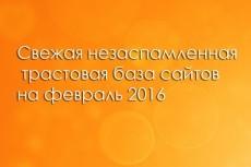 30 ссылок на ваш сайт с ТИЦ от 1600. Общий тИЦ - 97 315 4 - kwork.ru